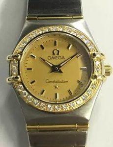最新買取情報♪オメガ・K18・ダイヤ・腕時計